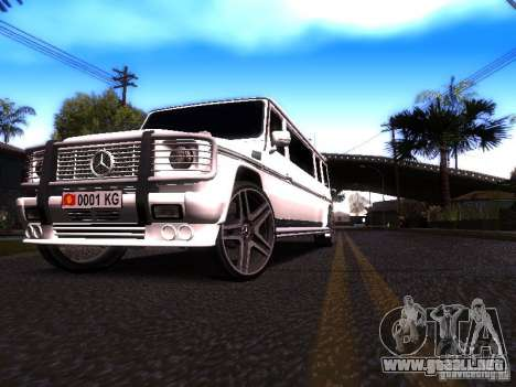 Mercedes-Benz G500 Limousine para GTA San Andreas