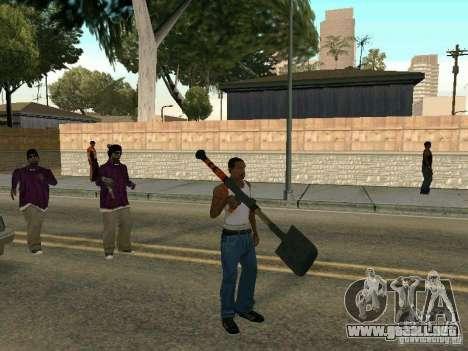 Lopatomët para GTA San Andreas segunda pantalla