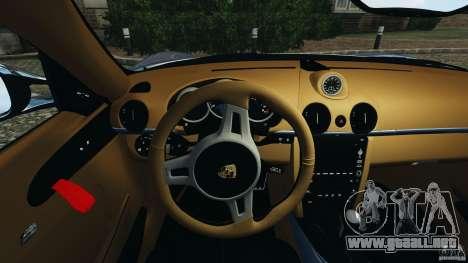 Porsche Cayman R 2012 [RIV] para GTA 4 ruedas