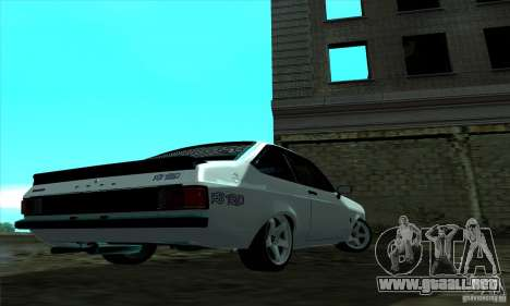 Ford Escort RS 1600 para GTA San Andreas left
