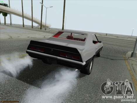 Chevrolet Camaro 1969 para GTA San Andreas left