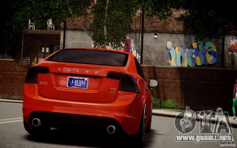 Volvo S60 R-Design 2011 para GTA 4 left