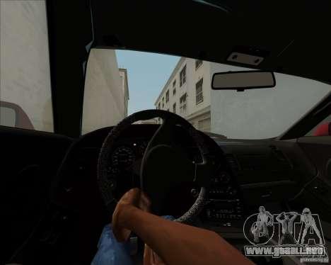 Toyota Supra RZ 98 Twin Turbo para la vista superior GTA San Andreas