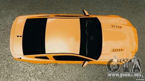 Ford Mustang 2013 Police Edition [ELS] para GTA 4 visión correcta