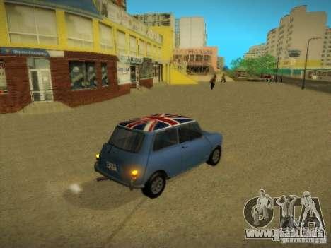 Mini Cooper 1965 para GTA San Andreas left