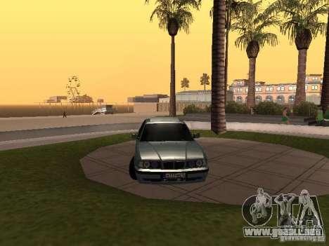 BMW E34 540i V8 para la visión correcta GTA San Andreas