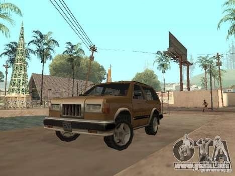 Landstalker nuevo para GTA San Andreas