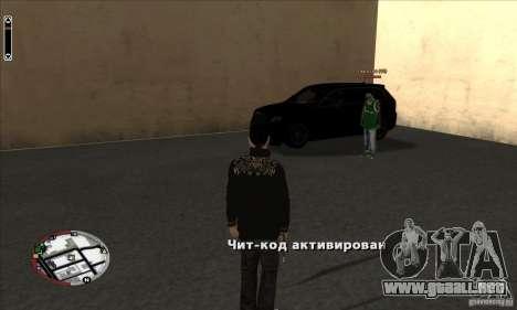 GodPlayer v1.0 for SAMP para GTA San Andreas
