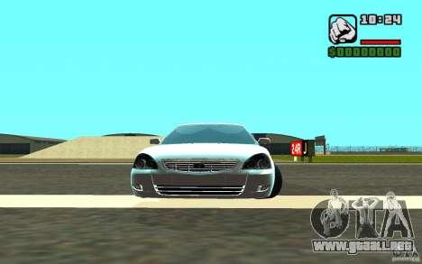 VAZ-2172 para visión interna GTA San Andreas