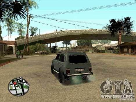 LADA Niva 21213 para GTA San Andreas left