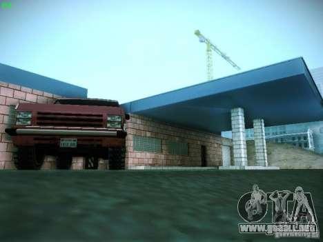 Nuevo garaje en San Fierro para GTA San Andreas octavo de pantalla
