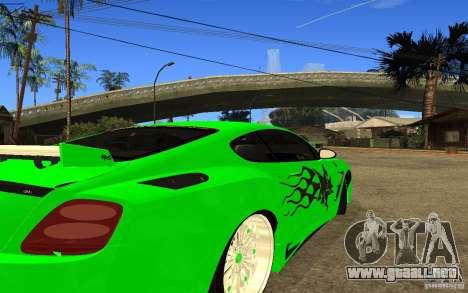Bentley Continental GT para la visión correcta GTA San Andreas