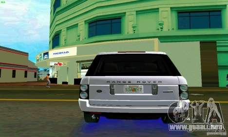 Land Rover Range Rover Supercharged 2008 para GTA Vice City visión correcta