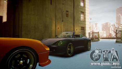 Comet Speedster para GTA 4 vista hacia atrás