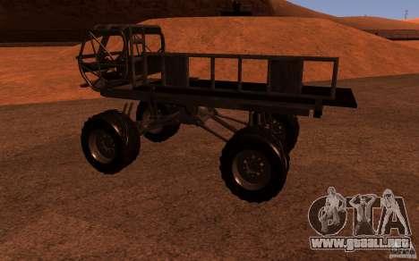 Heist Truck para GTA San Andreas left