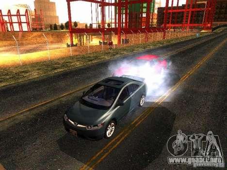 Honda Civic Si 2007 para GTA San Andreas