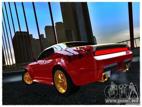 Dodge Challenger Calibri-Ace para GTA San Andreas left