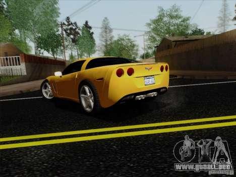 Chevrolet Corvette Z51 para GTA San Andreas left