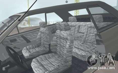 VAZ 2108 Natasha para GTA San Andreas vista hacia atrás