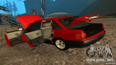 Audi 80 B3 v2.0 para GTA San Andreas vista hacia atrás