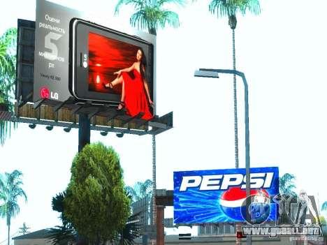 Nuevas texturas de Los Santos para GTA San Andreas quinta pantalla