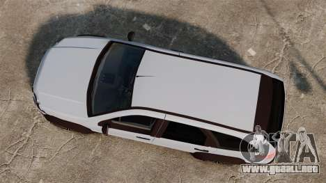 Fiat Palio Adventure Locker Evolution para GTA 4 visión correcta