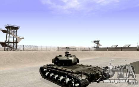 T26 E4 Super Pershing v1.1 para GTA San Andreas left