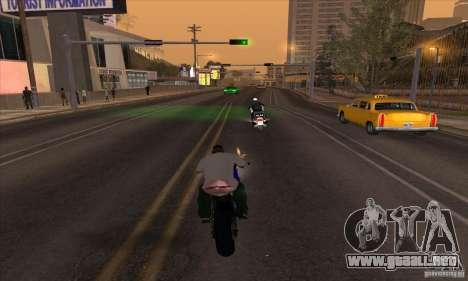 No wanted v1 para GTA San Andreas segunda pantalla
