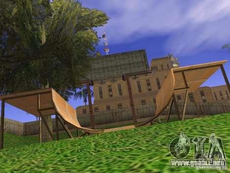 New Los Santos para GTA San Andreas octavo de pantalla