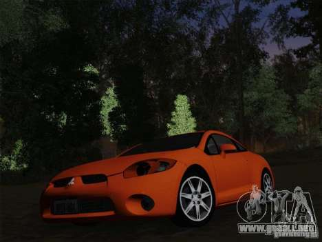 Mitsubishi Eclipse GT V6 para vista inferior GTA San Andreas