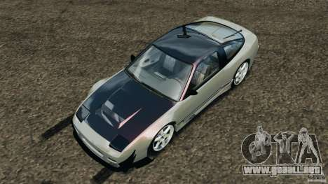 Nissan 240SX Kawabata Drift para GTA 4 vista desde abajo