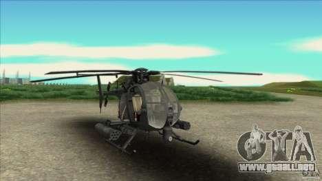 El helicóptero del mal residente para GTA San Andreas