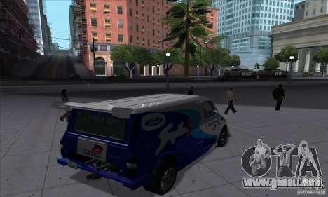 Ford Transit Supervan 3 2004 para la visión correcta GTA San Andreas