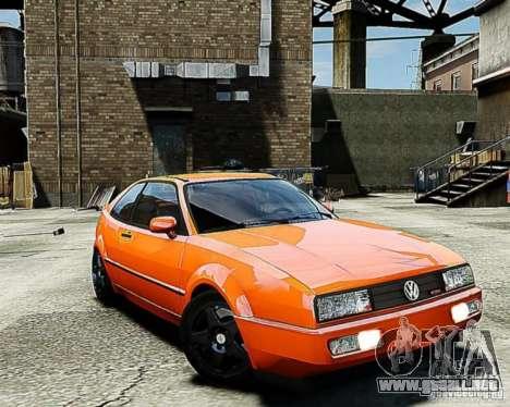 Volkswagen Corrado VR6 para GTA 4 Vista posterior izquierda