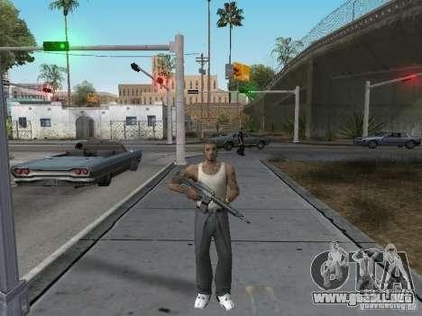 Cambiar los caracteres para GTA San Andreas segunda pantalla