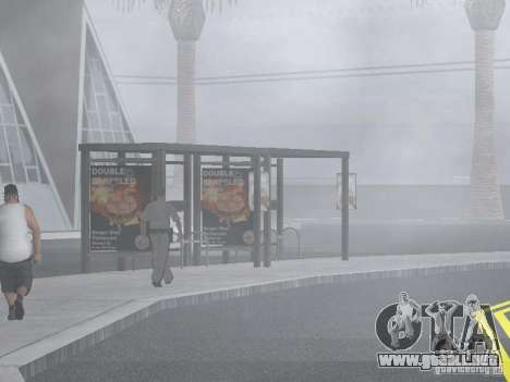 4-th autobús v1.0 para GTA San Andreas octavo de pantalla