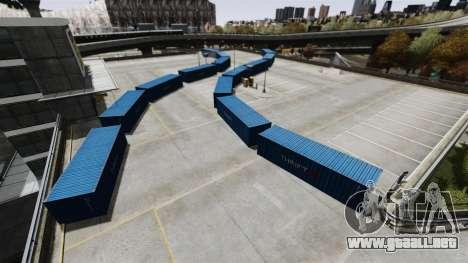 Deriva-pista en el aeropuerto para GTA 4 quinta pantalla