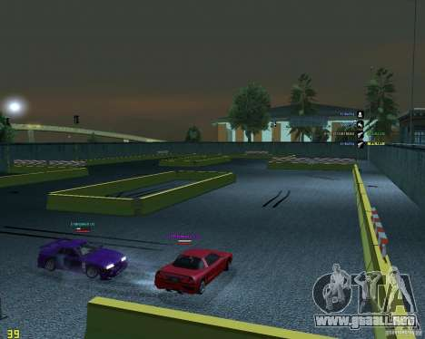 Circuito de deriva para GTA San Andreas segunda pantalla