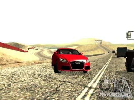 Audi TT-RS Coupe 2011 v.2.0 para la visión correcta GTA San Andreas