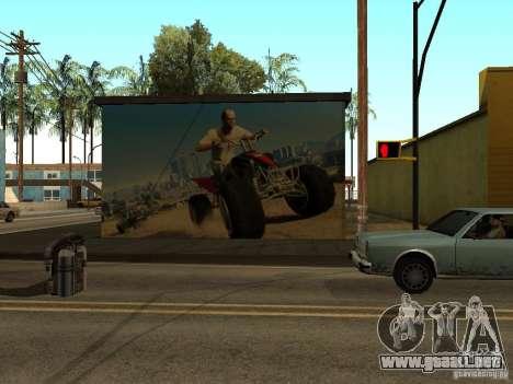Cartel de GTA 5 para GTA San Andreas segunda pantalla