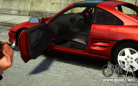 Toyota MR2 GT para GTA 4 Vista posterior izquierda