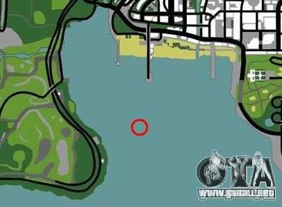 Plataforma petrolífera en Los Santos para GTA San Andreas sexta pantalla