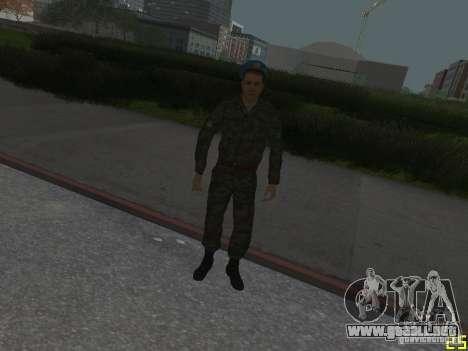 Spetsnaz VDV para GTA San Andreas quinta pantalla