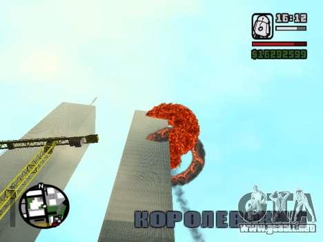 Torres Gemelas BETA para GTA San Andreas segunda pantalla