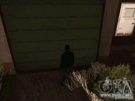 Uso del almacén tu banda para GTA San Andreas segunda pantalla