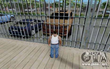 Parking (de pago) para GTA San Andreas segunda pantalla