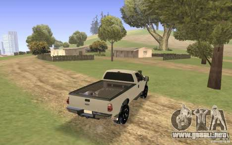 Ford F-250 para GTA San Andreas left