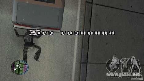 GTAIV HUD para una amplia pantalla (16: 9) v2 para GTA San Andreas sexta pantalla