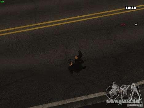 Nuevas animaciones para GTA San Andreas sucesivamente de pantalla