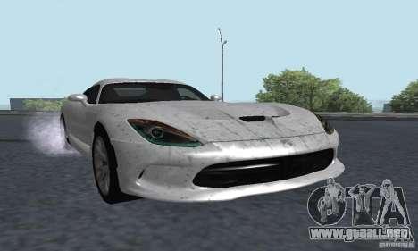 Dodge SRT Viper GTS 2013 para GTA San Andreas